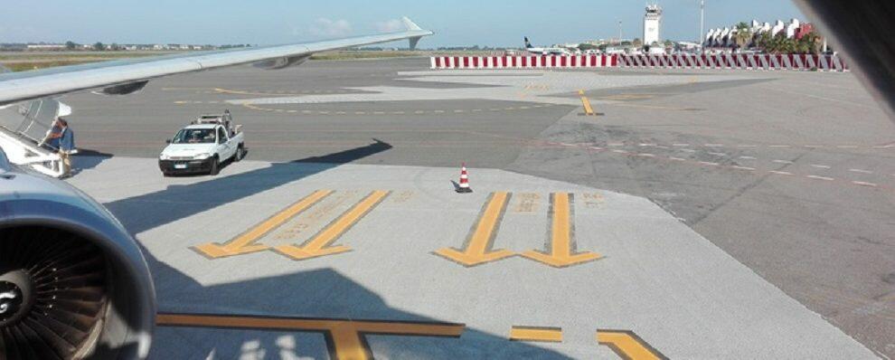 Emergenza all'aeroporto di Lamezia: volo diretto a Fiumicino rientra per un'avaria