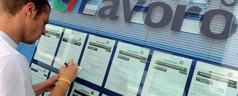 A settembre contratti di lavoro in calo. 80.000 in meno rispetto a un anno fa