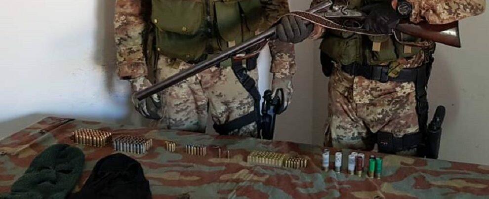 Rinvenute numerose armi e munizioni a Sant'Ilario dello Jonio