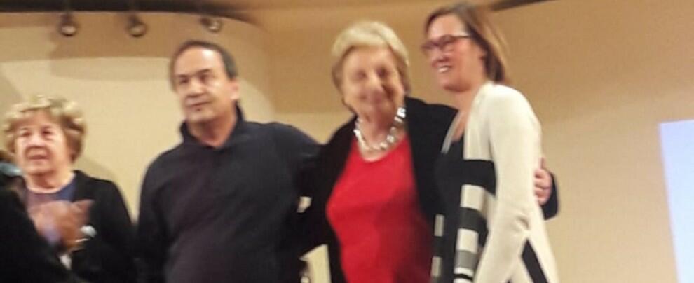 Foto del giorno: Domenico Lucano e Ilaria Cucchi a Torino con l'ANPI