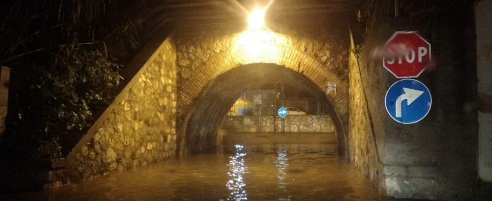 Nuovamente allagato il sottopasso ferroviario di Caulonia marina