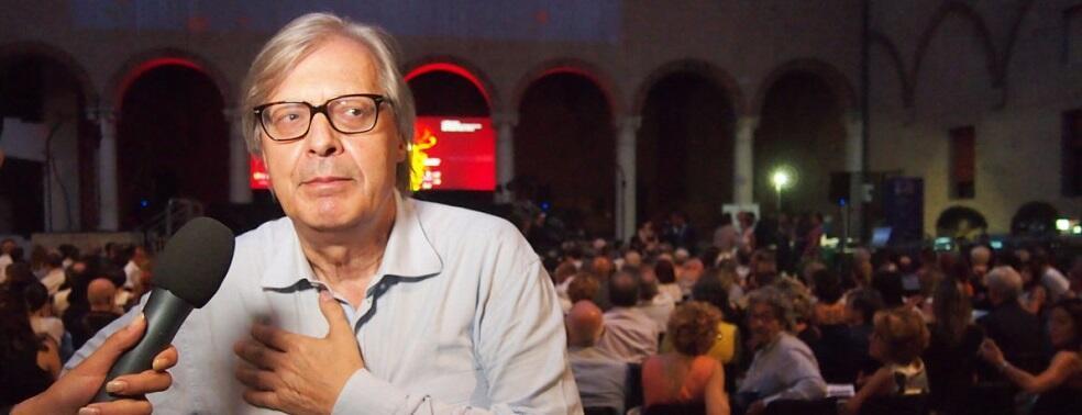 Domenico Lucano oggi non presenzierà alla cerimonia organizzata da Sgarbi a causa di un piccolo problema di salute