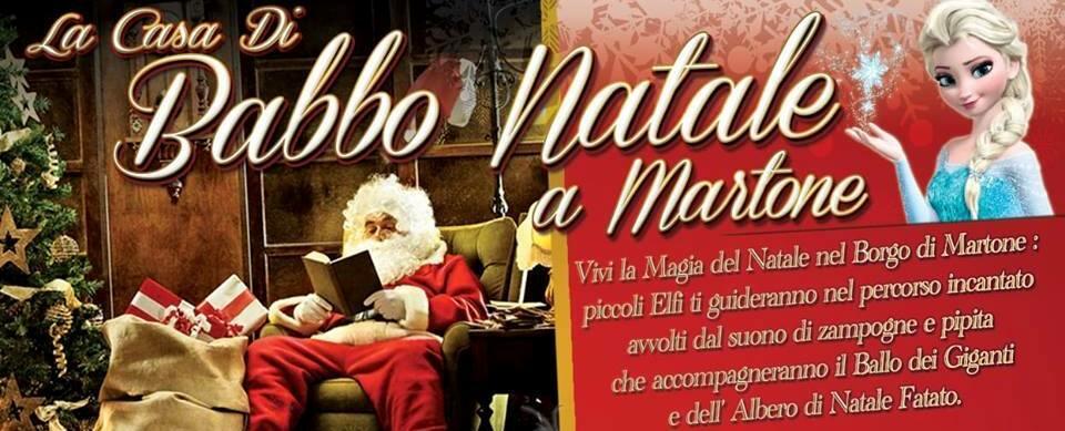 Percorso Babbo Natale.Martone Il 22 E Il 23 Dicembre Torna La Casa Di Babbo Natale