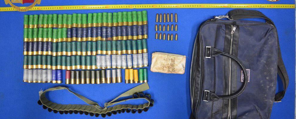 Reggio Calabria, rinvenute svariate munizioni all'interno di una cabina elettrica