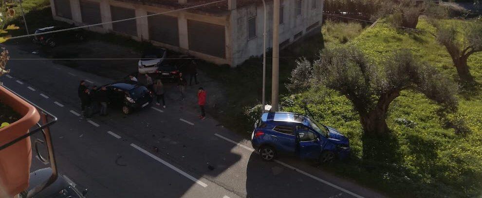 Incidente stradale a Marina di Gioiosa Ionica