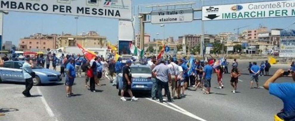 Scontri tra ultras del Catania e Cosenza a Villa S. Giovanni, emessi 5 daspo
