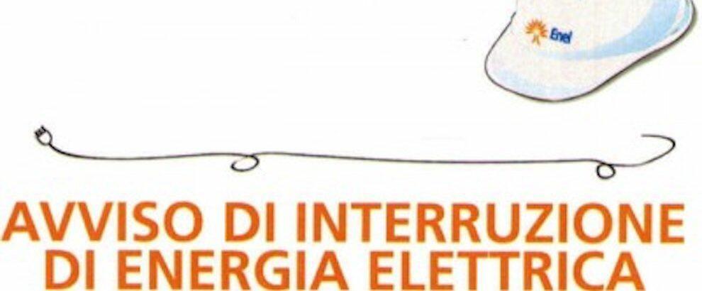 Lunedì pomeriggio mancherà l'elettricità a Caulonia