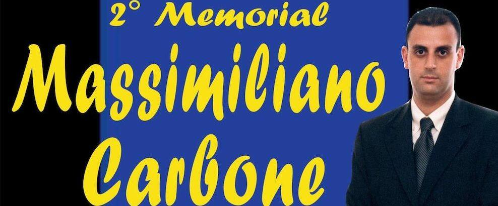 """Siderno, venerdì la seconda edizione del memorial """"Massimiliano Carbone"""""""