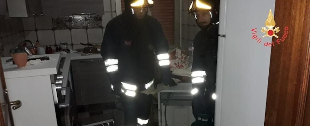 Esplosione in un appartamento nel catanzarese