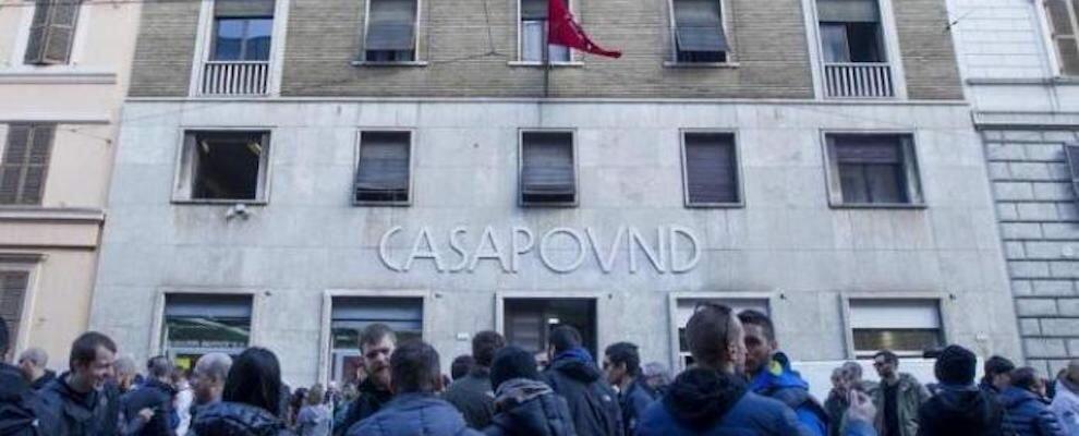 Dopo Salvini salvano i fascisti: Casapound non si sgombera