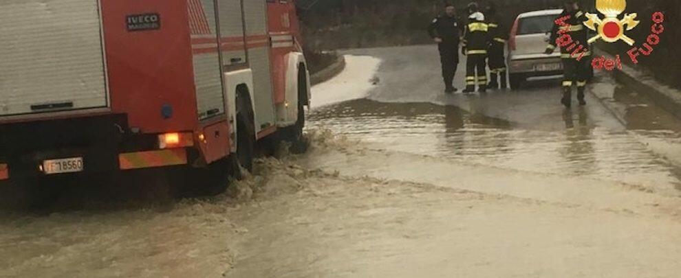 Grandine in Calabria, automobilisti bloccati