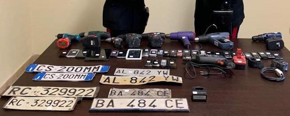 I carabinieri eseguono due arresti e tre denunce a seguito di un controllo del territorio