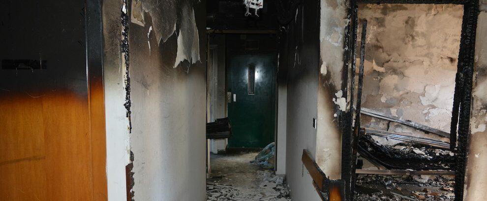 Incendio in una casa di riposo, arrestato l'autore del gesto