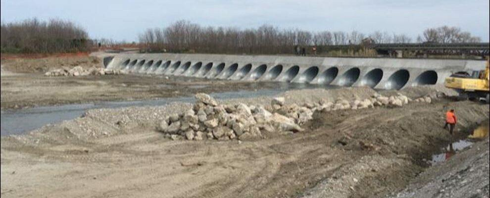 Caulonia, quasi ultimati i lavori del guado alternativo al ponte Allaro