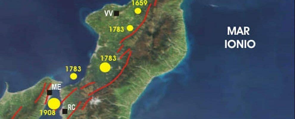 Terremoti in Calabria: ecco quali sono le aree a maggior rischio