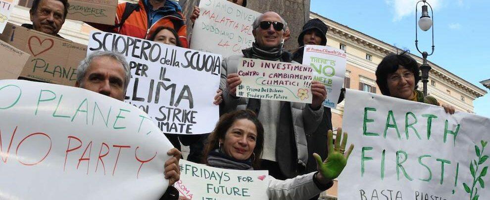 Oggi in piazza contro il cambiamento climatico