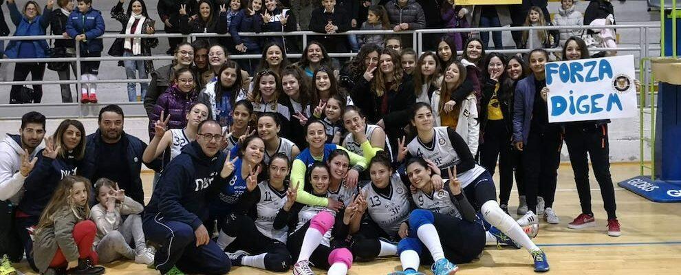 La Digem Volley di Marina di Gioiosa conquista la prima finale di Coppa Calabria