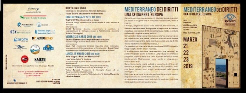 L'attivista Recosol Enzo Infantino a Riccione il 22 marzo per parlare di buone pratiche di accoglienza e integrazione