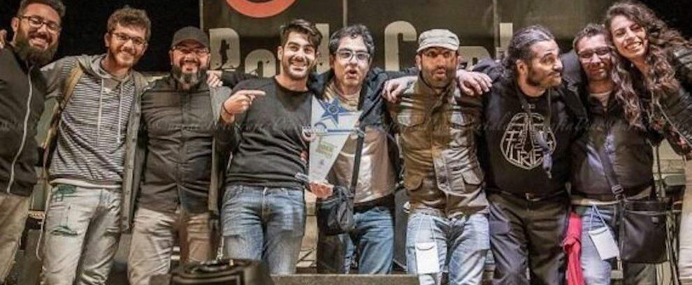 La band Statale 107 bis all'evento del Primo maggio di Roccella Jonica