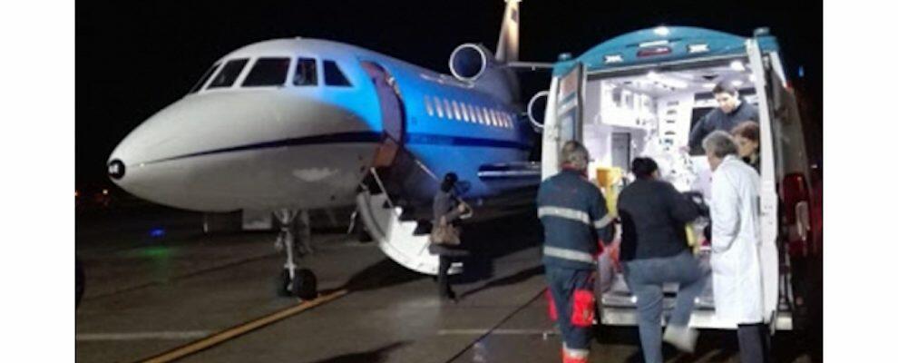 Reggio Calabria, neonato in pericolo di vita trasportato d'urgenza a Genova