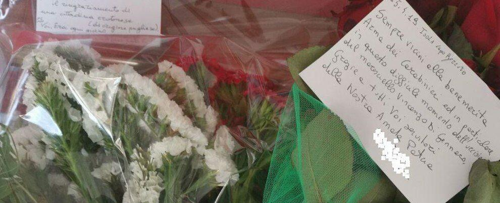 Assassinio carabiniere Foggia, la solidarietà dei calabresi