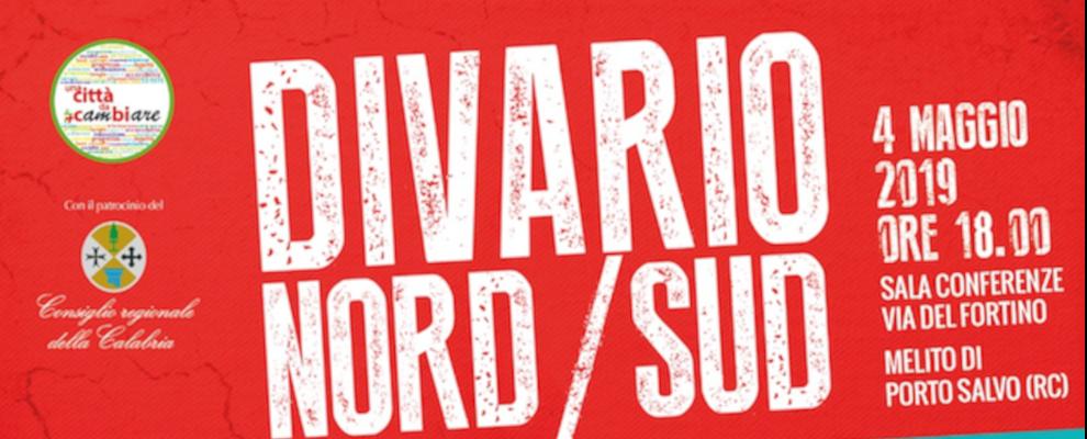 Divario Nord/Sud: se ne parlerà il 4 maggio con Ilario Ammendolia