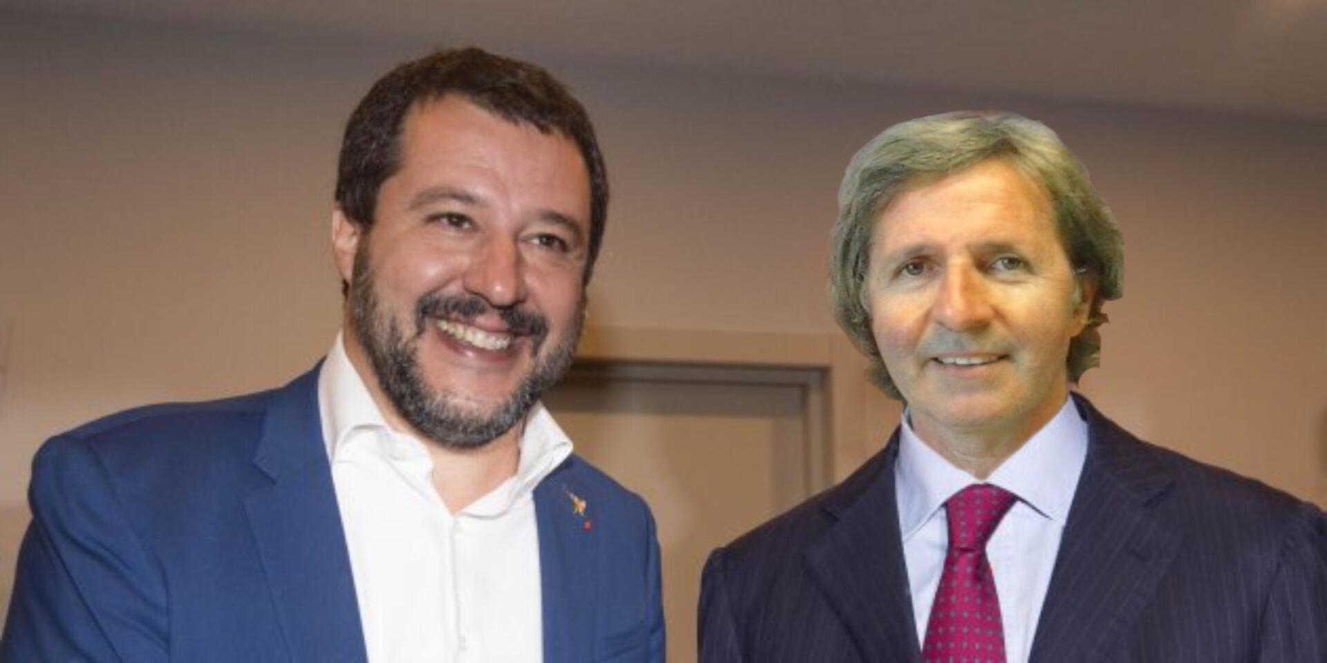 Clamoroso: Matteo Salvini a Caulonia! Cagliuso candidato alle europee con la Lega