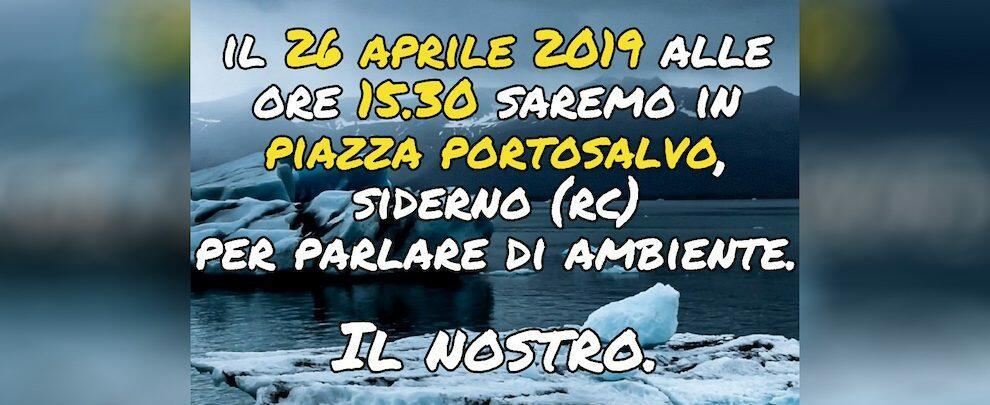Fridays For Future sbarca nella Locride: venerdì in piazza a Siderno per parlare di ambiente