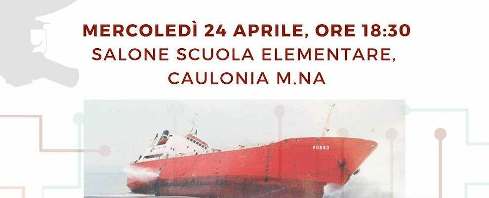 Caulonia, domani la presentazione dell'inchiesta di Andrea Carnì sulle navi dei veleni