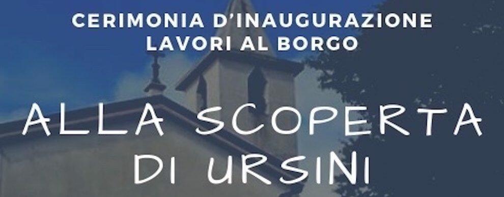 Lavori di riqualificazione nella frazione Ursini di Caulonia, domani l'inaugurazione con Oliverio