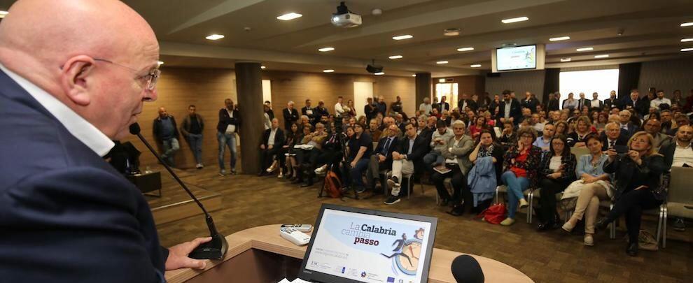 """""""La Calabria cambia passo"""": illustrato lo stato di attuazione del Patto per lo Sviluppo della Calabria"""
