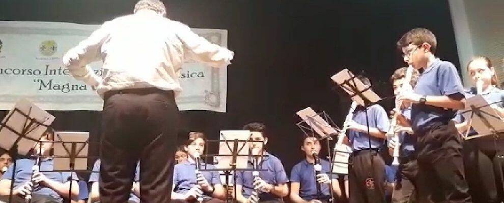 """Incetta di premi per l'orchestra polifonica di flauti dolci dell'Istituto """"Falcone-Borsellino"""" di Caulonia"""