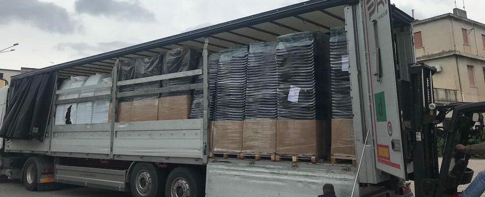 Arrivano le nuove attrezzature per la raccolta differenziata a Gioiosa
