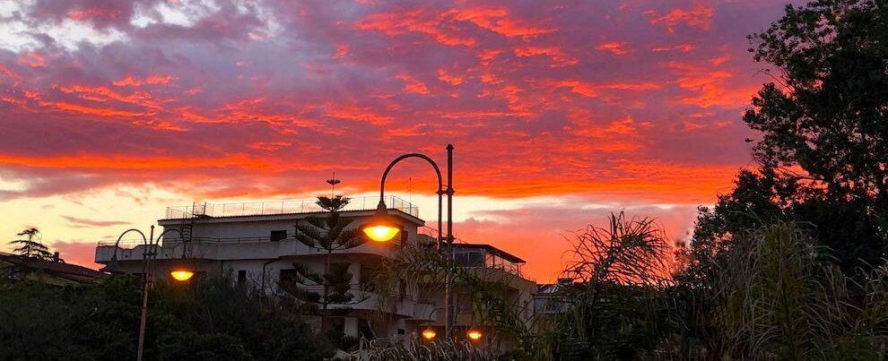 """""""Cambiando Prospettiva"""": meraviglioso tramonto a Caulonia"""