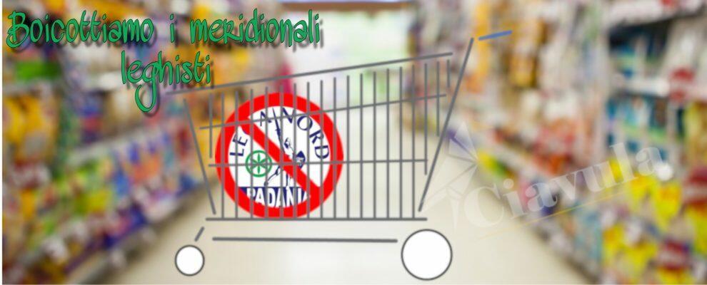 Basta odio! Boicottiamo i negozi e le attività dei calabresi leghisti. L'appello di Ciavula