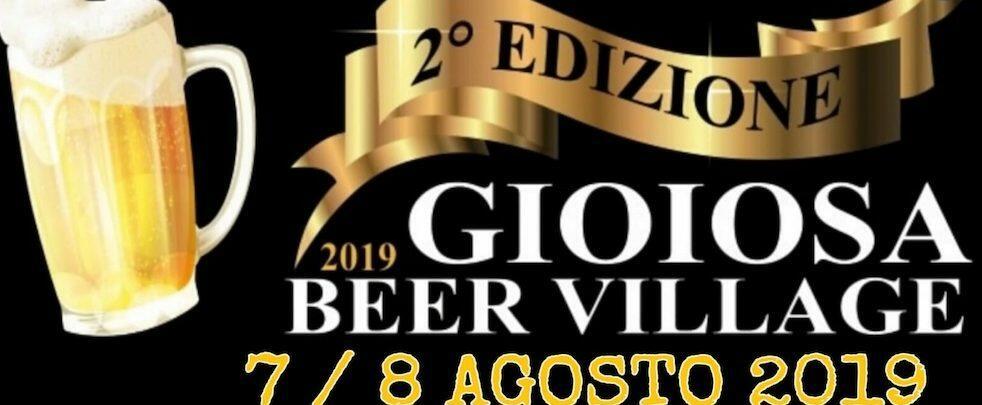 Ritorna per il secondo anno l'appuntamento con il Gioiosa Beer Village