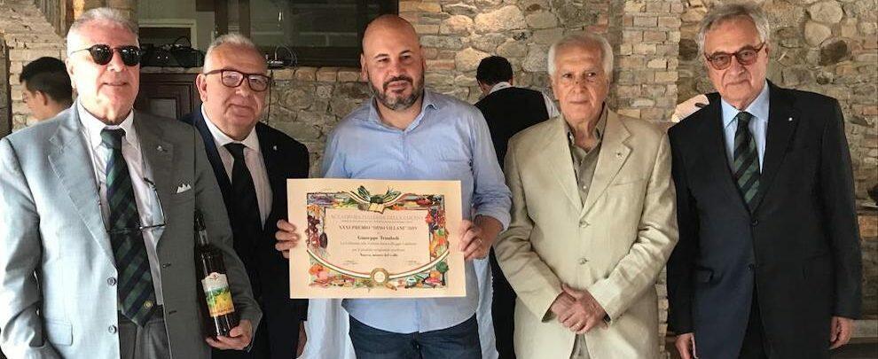 """""""La Collinetta"""" premiata dall'Accademia Italiana della Cucina"""