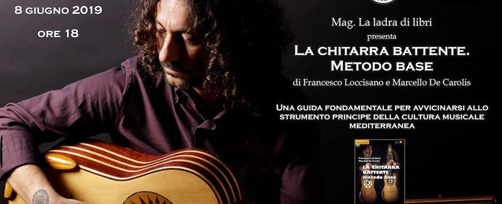 Francesco Loccisano e la sua chitarra battente al Mag di Siderno