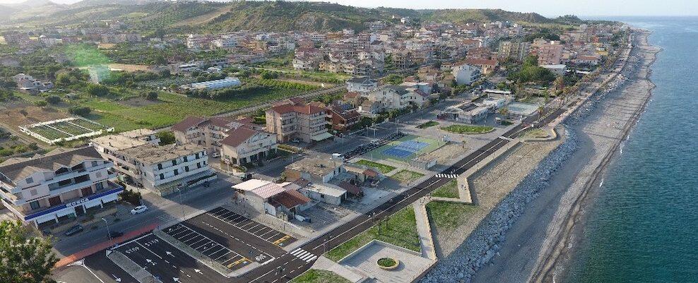 Domenica l'inaugurazione del nuovo waterfront di Monasterace