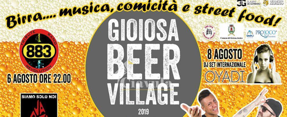 Fervono i preparativi per il Gioiosa Beer Village: ufficiale la partnership con noto birrificio scozzese