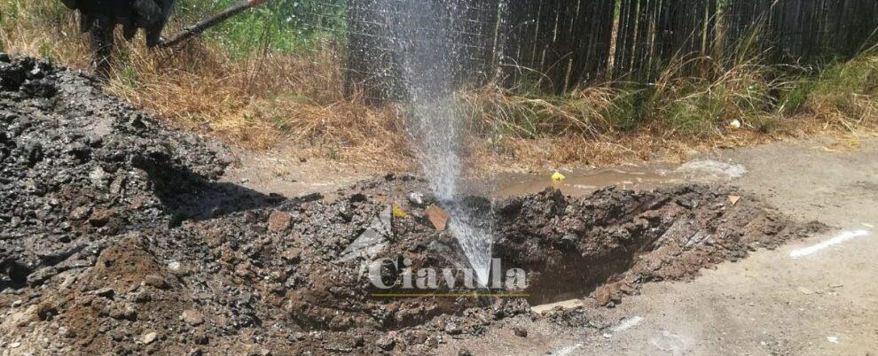 Un arresto e 12 denunce per furto di acqua potabile