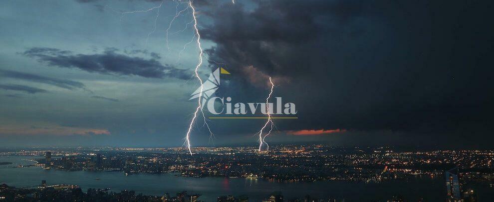 Previsti temporali tra oggi e domani in Calabria: la Protezione civile lancia l'allerta
