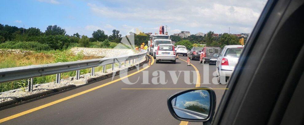 Guado ponte Allaro: senso unico alternato causa lavori