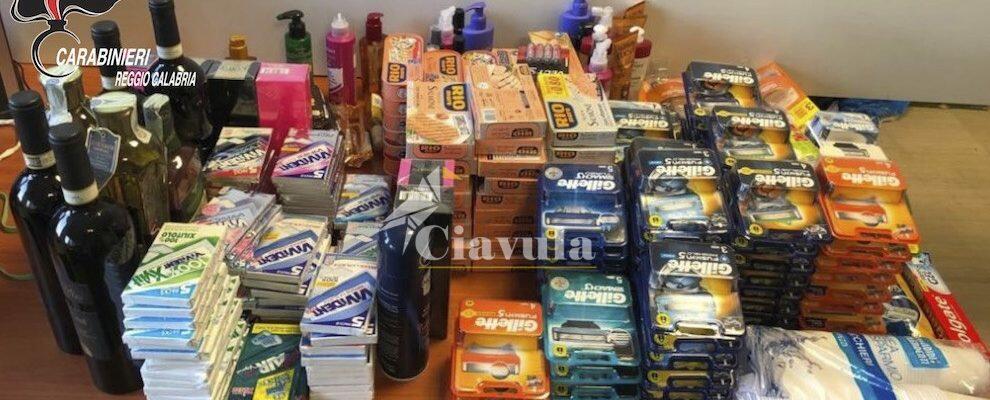 Furto presso noto supermercato a Siderno, 3 pregiudicati in manette