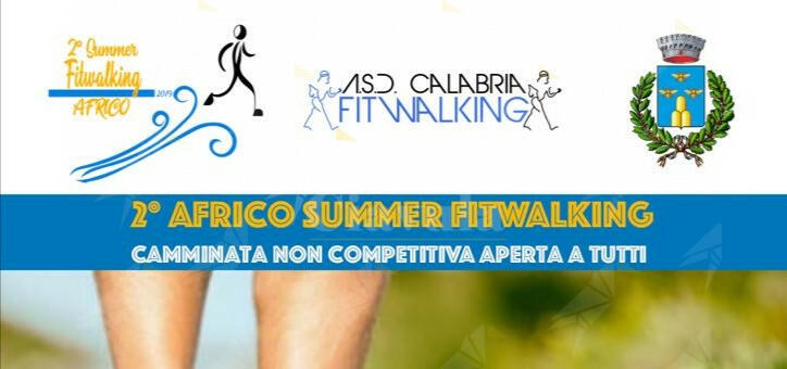 Domenica il 2° Africo Summer Fitwalking