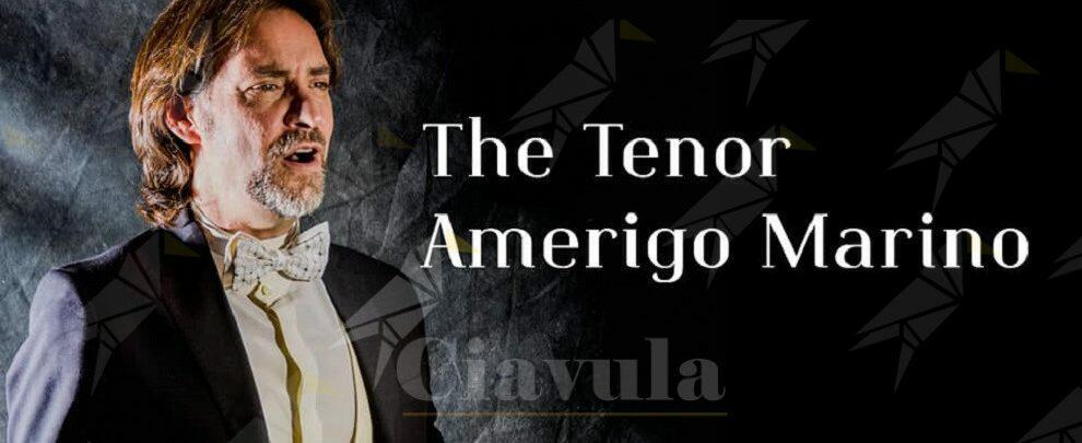 Domani a Siderno l'incontro con il tenore calabrese Amerigo Marino