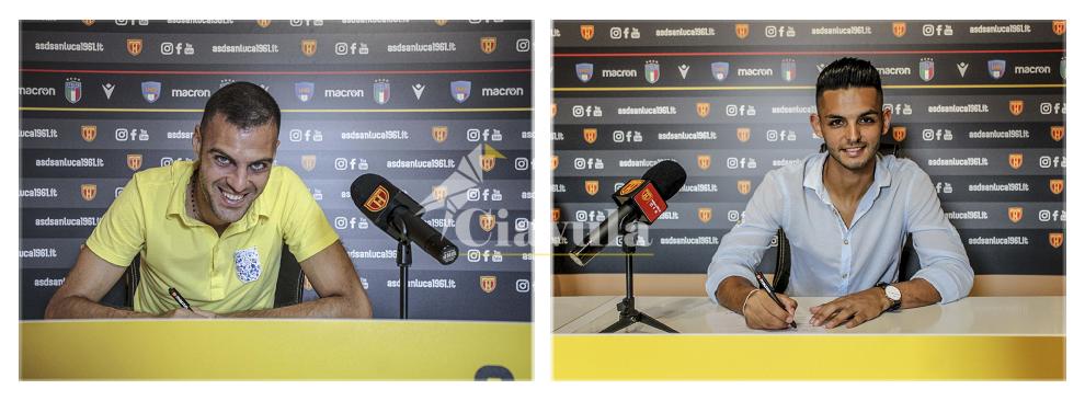 Maviglia e Martino i nuovi acquisti del San Luca calcio