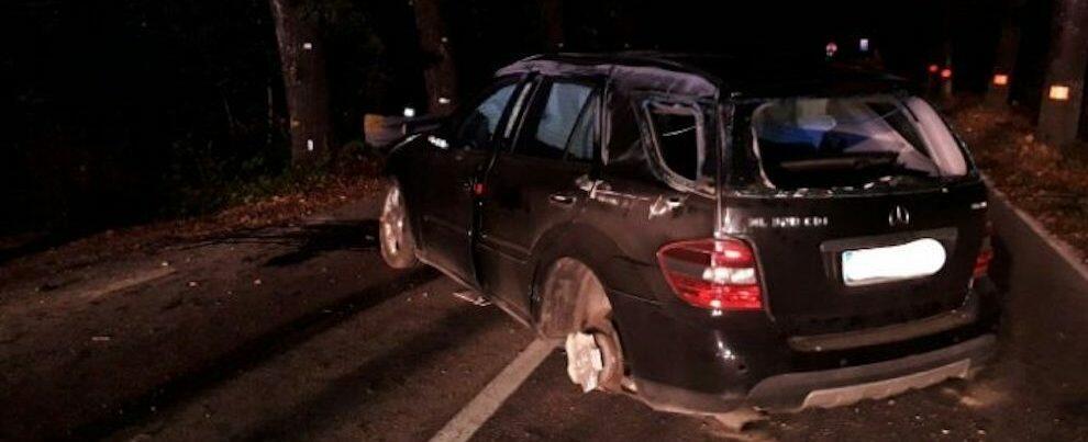 Incidente stradale, automobilista finisce in ospedale
