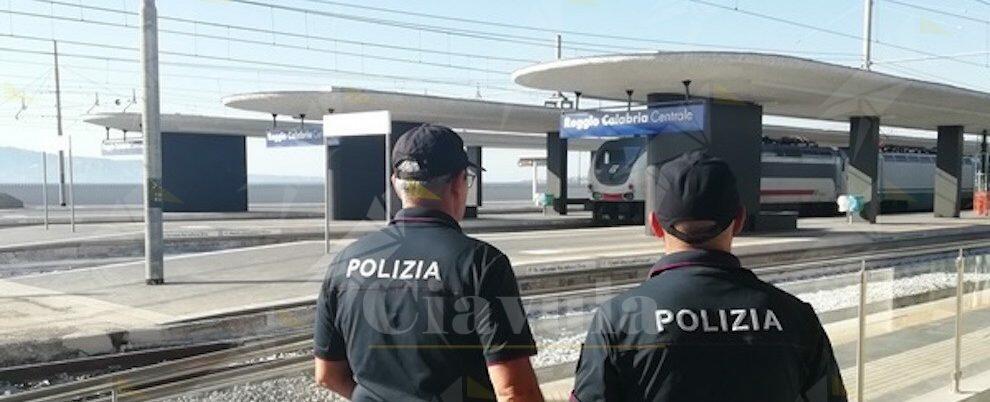 Controlli serrati nelle stazioni ferroviarie calabresi: oltre 400 persone identificate