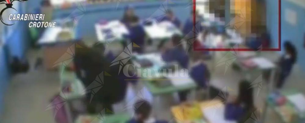 Il video delle violenze delle maestre sui bambini di Crotone